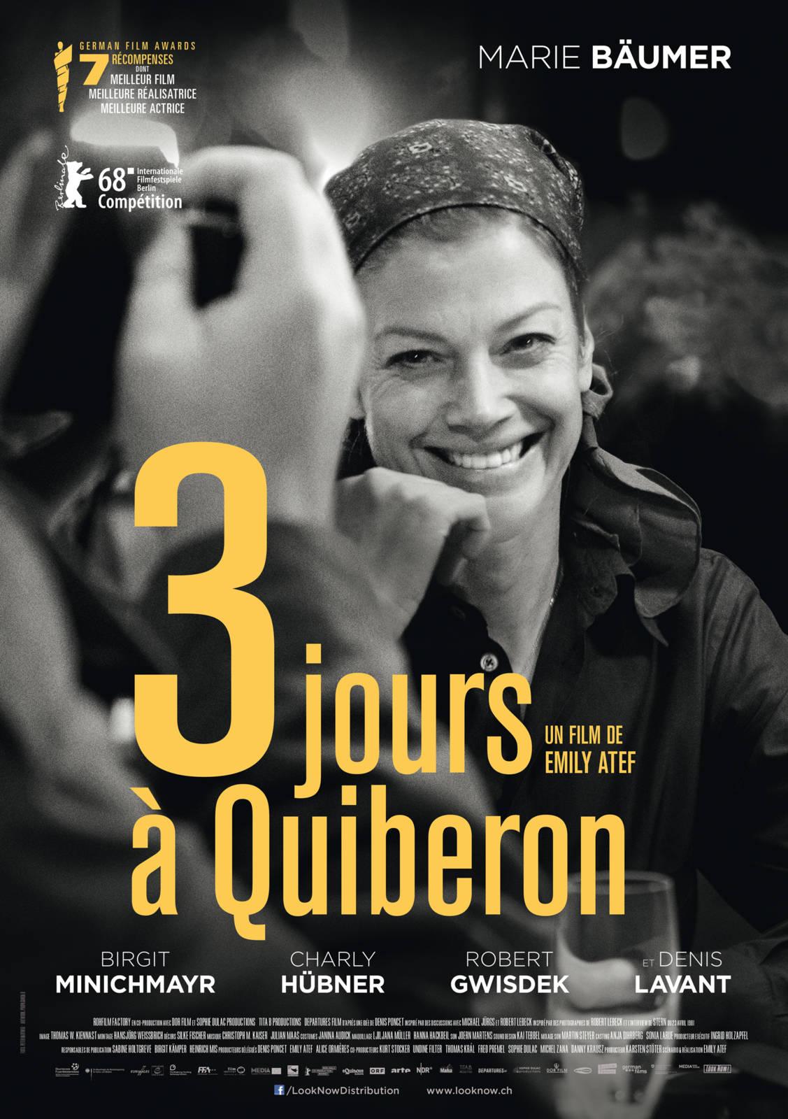 3 jours à Quiberon Affiche